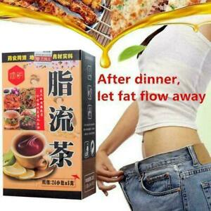 24-BAGS-SLIMMING-CHINESE-GREEN-HERBAL-BURN-FAT-DIET-DRINK-WEIGHT-LOSS-U7U6