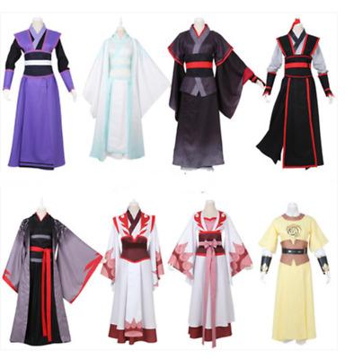 The Grandmaster of Demonic Cultivation Wei Wuxian Lan Wangji Cosplay Costume Set