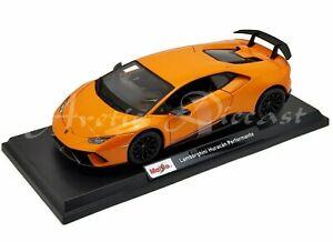 Maisto-1-18-Edicion-Especial-2020-Naranja-Lamborghini-Huracan-de-buen-rendimiento-Exclusivo