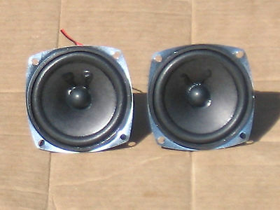 "Fijn Pair Of Rca 3"" 6 Ohm Full-range Speakers That Are In Very Good Condition! Geavanceerde TechnologieëN"