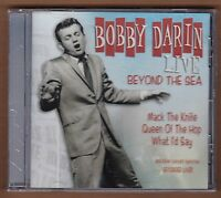 Bobby Darin Cd live Beyond The Sea 2004 Laserlight Sealed 10 Tracks Oldies