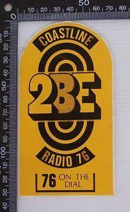 VINTAGE-2BE-COASTLINE-RADIO-76-ON-THE-DIAL-AUSTRALIA-RADIO-ADVERTISING-STICKER
