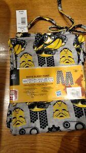 Transformers Lounge Pants~Boys size L 12//14