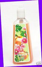 3 Bath & Body Works Cilantro Peach Anti-bacterial Deep Cleansing Hand Soap 8 Oz