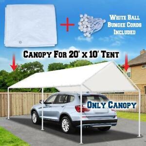 NEW Canopy 10 X 20' Feet Domain Carport Garage Tent Car ...