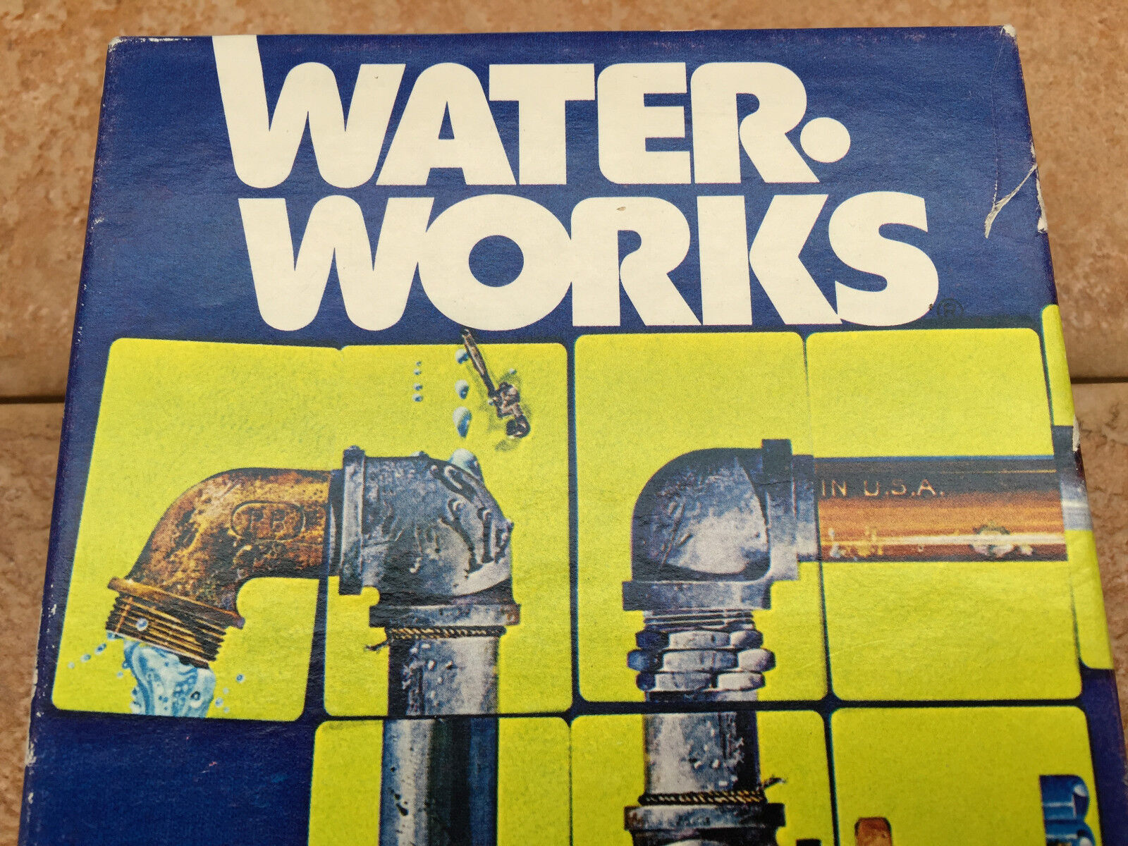 1976 Water Works Parker Brothers Card Game - complete