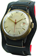UMF Ruhla Germany Handaufzug Herrenuhr mit Ziffernblatt Fehldruck vintage watch