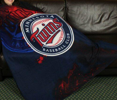 Minnesota Twins MLB Baseball Fleece Throw Blanket by Northwest