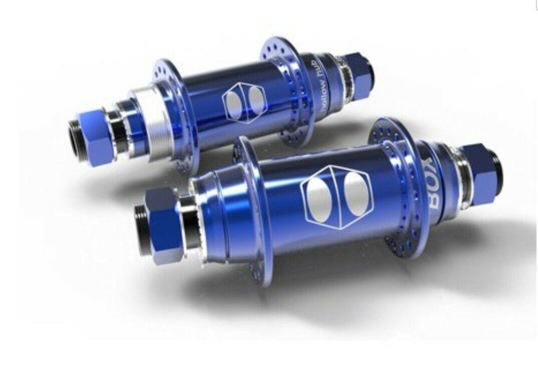 1GBOX HOLLOW 20MM FREEHEEL 36 HOLE HUB SET Blau HU1320S36 -BL