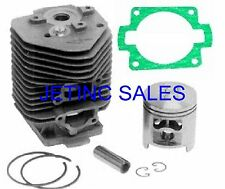 Cylinder Amp Piston Kit With Gaskets Fits Stihl Ts 510 050 051 52mm