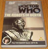 Doctor Who DVD - The Robots of Death (Excellent Condition)