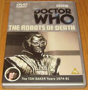 Doctor-Who-DVD-The-Robots-of-Death-Excellent-Condition