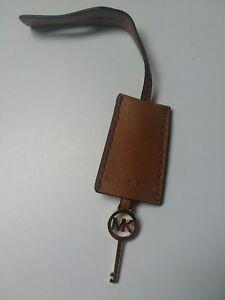 Details about Michael Kors Gold ToneMed Replacement Lock Key Bag Charm Acorn Saffiano Leather