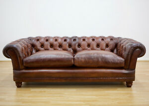 Terrific Details About John Lewis New Chatsworth Leather Chesterfield Grand Sofa Antiqued Sale Now On Forskolin Free Trial Chair Design Images Forskolin Free Trialorg