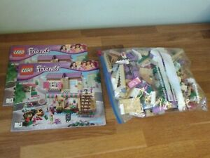 Lego Friends 41108 Heartlake Food Market Complete Instructions
