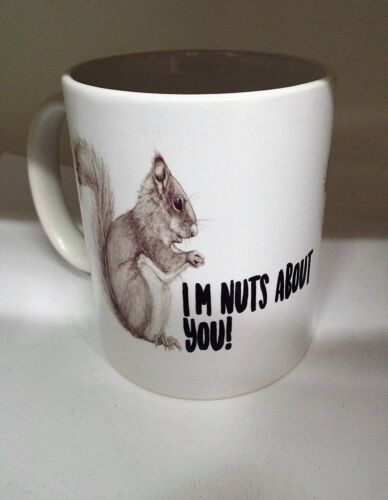 I/'m Nuts about you 11oz ceramic mug funny Valentines day