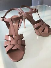 c614c875cf item 1 Yves Saint Laurent YSL Nude Tribute Patent Leather T-Strap Sandal,  Size 9 US -Yves Saint Laurent YSL Nude Tribute Patent Leather T-Strap Sandal,  ...