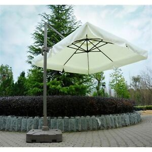 Image Is Loading Umbrella BASE ONLY For Outsunny Offset Tilt Patio