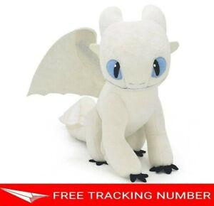 12-034-LIGHT-FURY-How-to-Train-Your-Dragon-3-DreamWorks-World-Movie-Doll-Plush-Toys