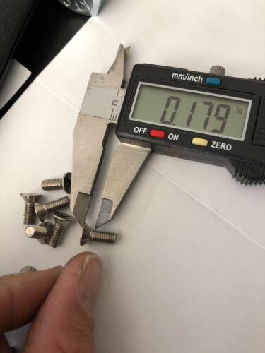 10-32-x-1-2-034-Flat-Head-Machine-Screws-Phillips-Drive-Stainless-Steel NEW