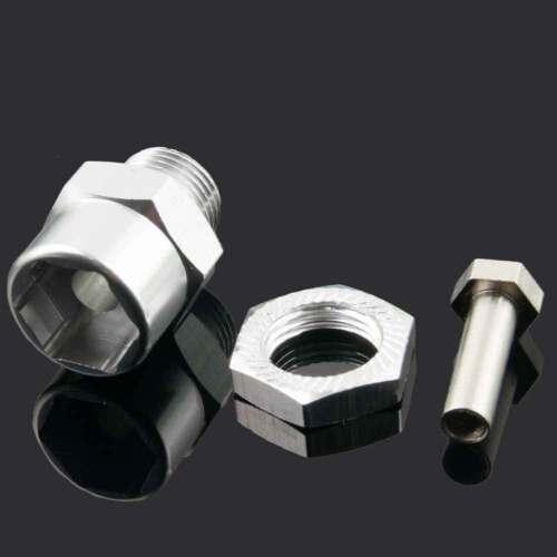 Rc 12mm to 17mm Hex Wheel Hub Adaptor For Traxxas Rustler Stampede Slash Bandit
