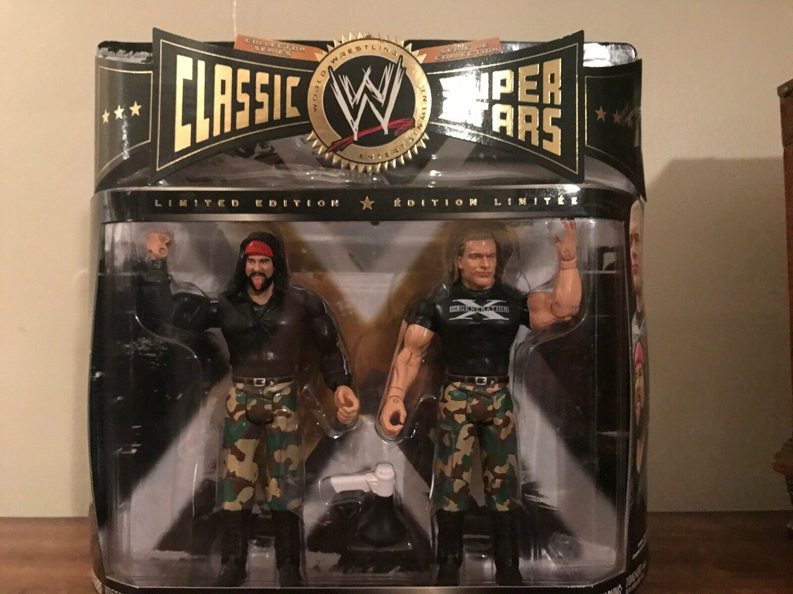 WWE Jakks classeic Superestrellas XPac & Triple H azione cifra 2Pack