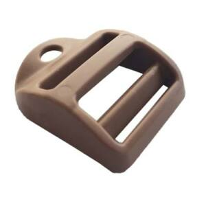 2-unidades-Hebilla-Bloqueador-GT-Coyote-brown-escalera-25-mm-ITW-Ladderloc