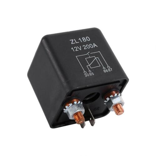12V 200A Heavy Duty Split Charge ON//OFF Relays Car Auto Boat 200Amp MDF