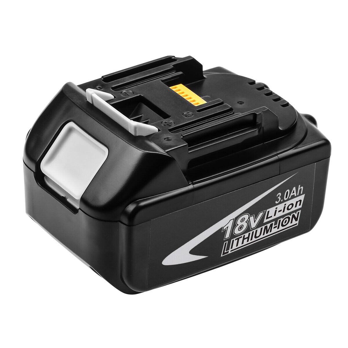 2x 3Ah Battery BL1830 for MAKITA 18V LXT BHP458 BHP458Z BHP458RFE COMBI DRILL