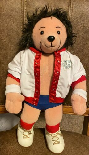 Details about  /Rare Autographed WWE Plush Eugene Teddy Bear Autographed by WWE Eugene.