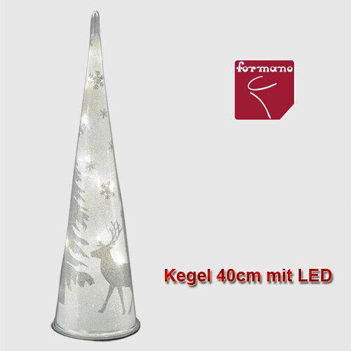Formano Deko Licht Kegel LED klar Spezialfolie Effekte Weihnachten Elch Baum