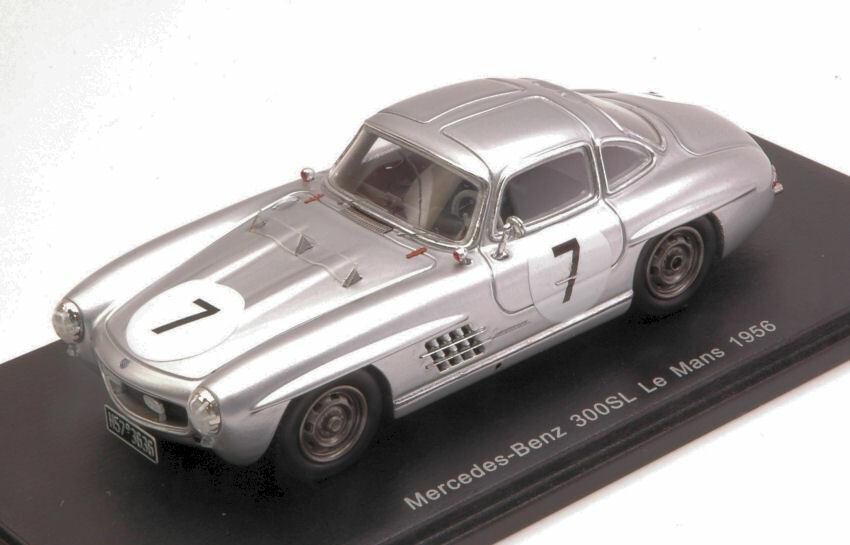 excelentes precios Mercedes 300sl  7 dnf LM 1956 1956 1956 Prince p. Metternich w. de Einsiedel 1 43 Model  wholesape barato