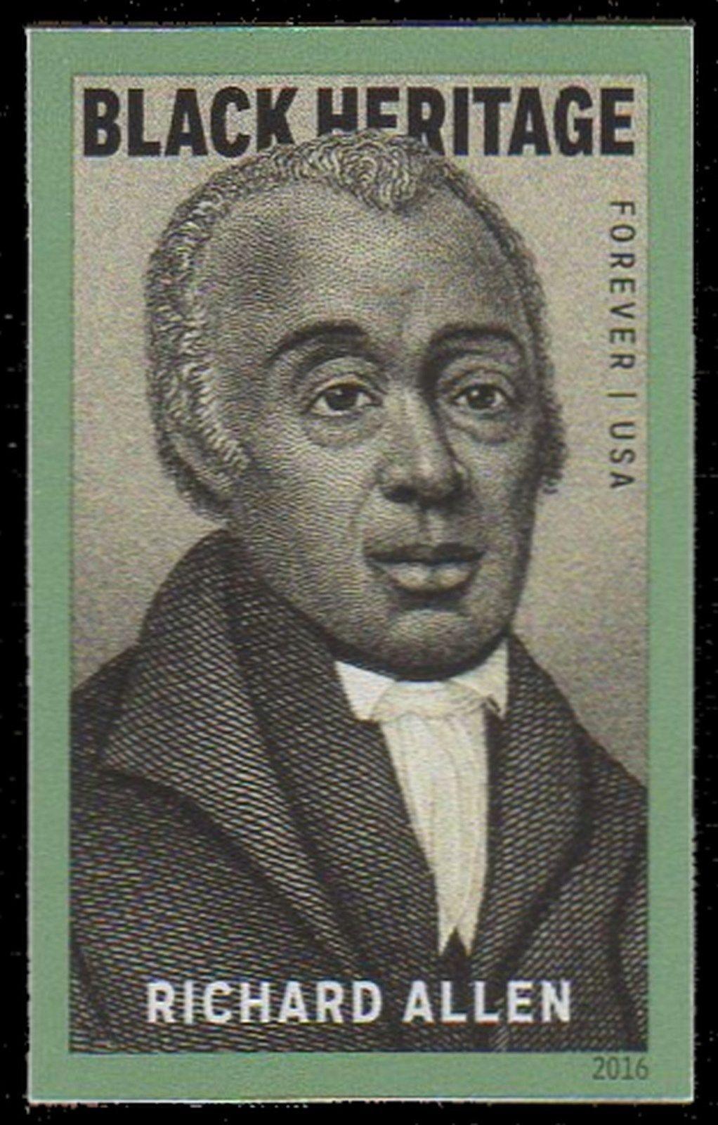 2016 49c Richard Allen African Methodist Episcopal (AME