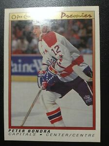 Peter-Bondra-Rookie-Card-OPC-Premiere-1990-91-7
