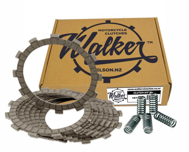 Walker Clutch Friction Plates & Springs Kawasaki ZXR750 H H1 H2 89-90