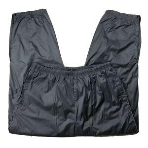 Nautica-Competition-Pants-Mens-XLT-Gray-Elastic-Waist-Pockets-Water-Resistant