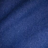 Medium Blue 100% Cotton 8oz Washed Denim Fabric *Per Metre