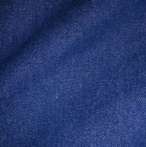 Medium-Blue-100-Cotton-8oz-Washed-Denim-Fabric-Per-Metre