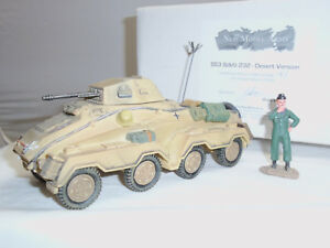 Nouveau modèle d'armée allemand Ss3 Sdkfz 232 Desert Version Militaire Jouet Soldat Véhicule