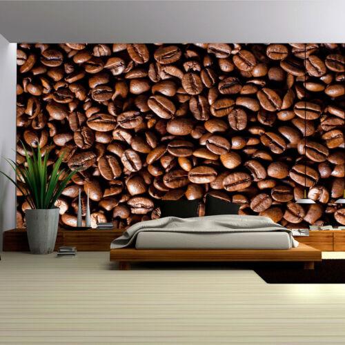 VLIES Tapete Fototapeten Tapeten Poster Foto COFFEE Kaffeebohnen 14N182VEXXL
