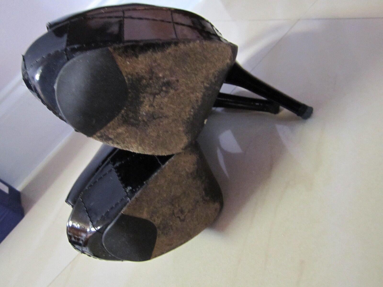 Stuart Weitzman CAPVEVEY Taupe damen Größe 8.5 8.5 8.5 High Heels Pump Peep Toe Größe 9M a09582