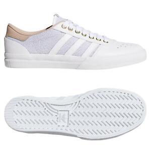 Ese triángulo ingresos  Adidas ORIGINALS LUCAS PREMIERE Entrenadores Blanco Rosa calzado tenis  Skateboarding | eBay