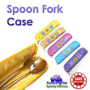 1-x-Fork-Spoon-Chopsticks-Case-Lunch-box-Kids-Bento-Cute-design-Cover-Colour
