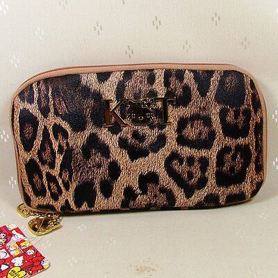 HelloKitty Zipper Wallet Purse 2018  New Cute Pu   Leopard  Long Size