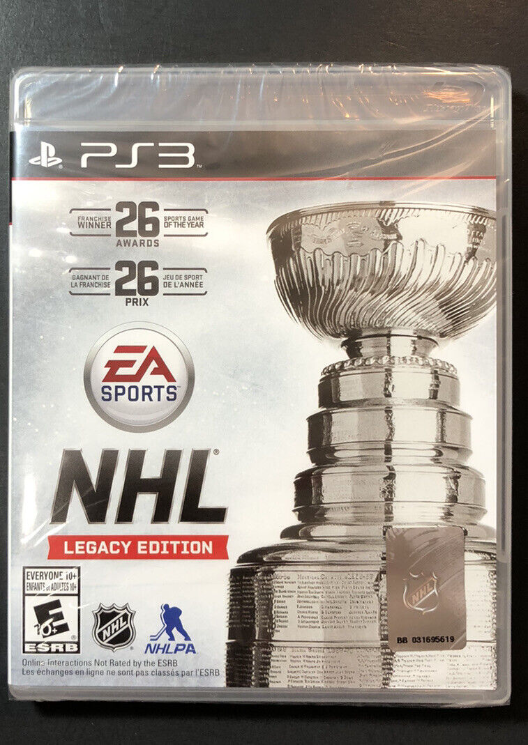 NHL [ Legacy Edition ] (PS3) NEW