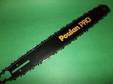 """POULAN/PRO - 20"""" Model 330,365,380,3350,3450,3650,3750 Chainsaw Bar + FREE CHAIN"""
