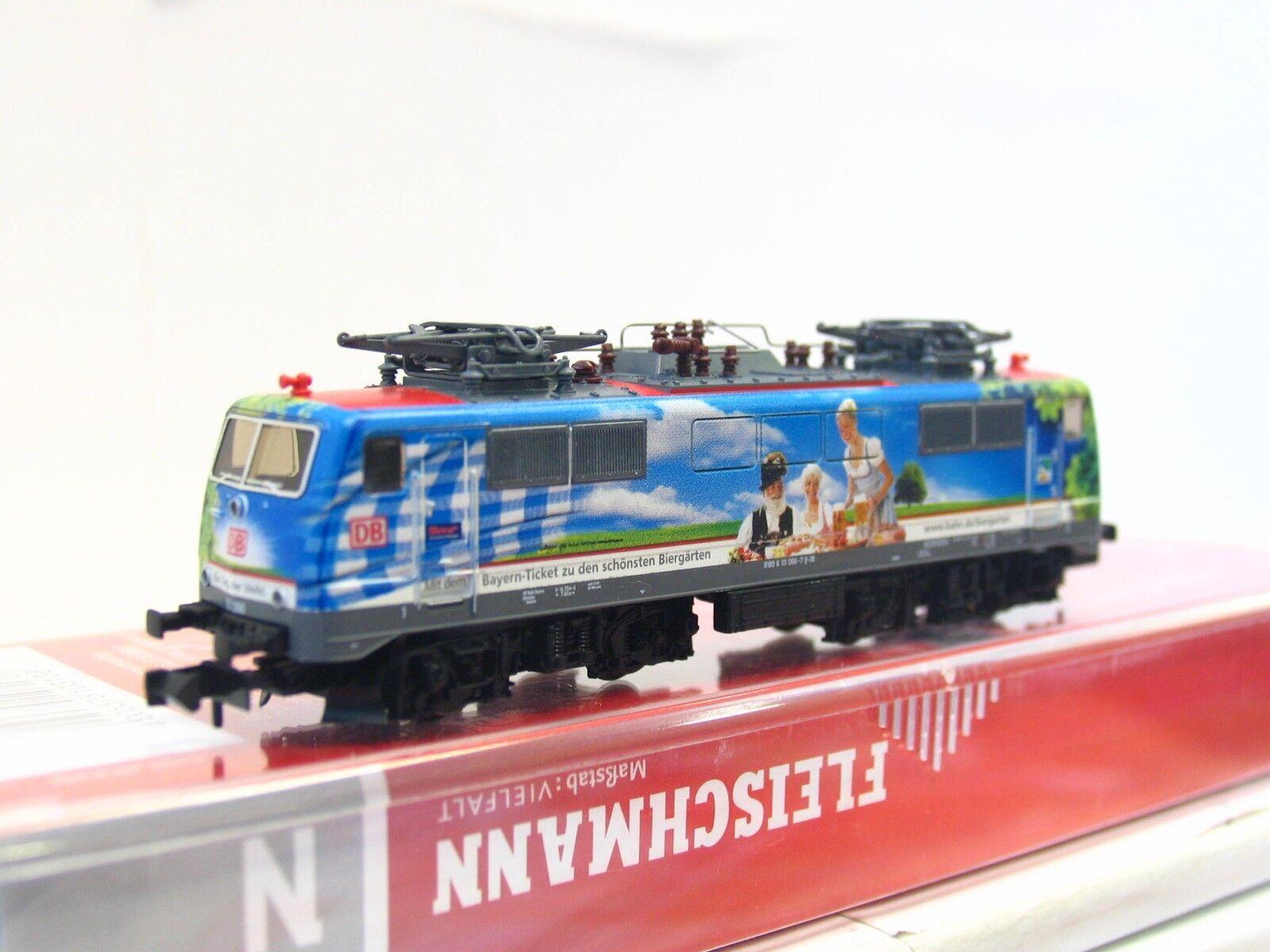 Fleischmann N 781302 E-Lok E-Lok E-Lok BR 111 066-7 DB DSS OVP Ltd. 373 400 (V5999) 018453