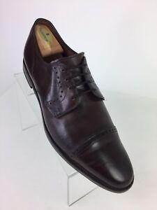 a789b0df72d Allen Edmonds Clifton Blucher Oxfords Size 11 D Brown Leather Men ...
