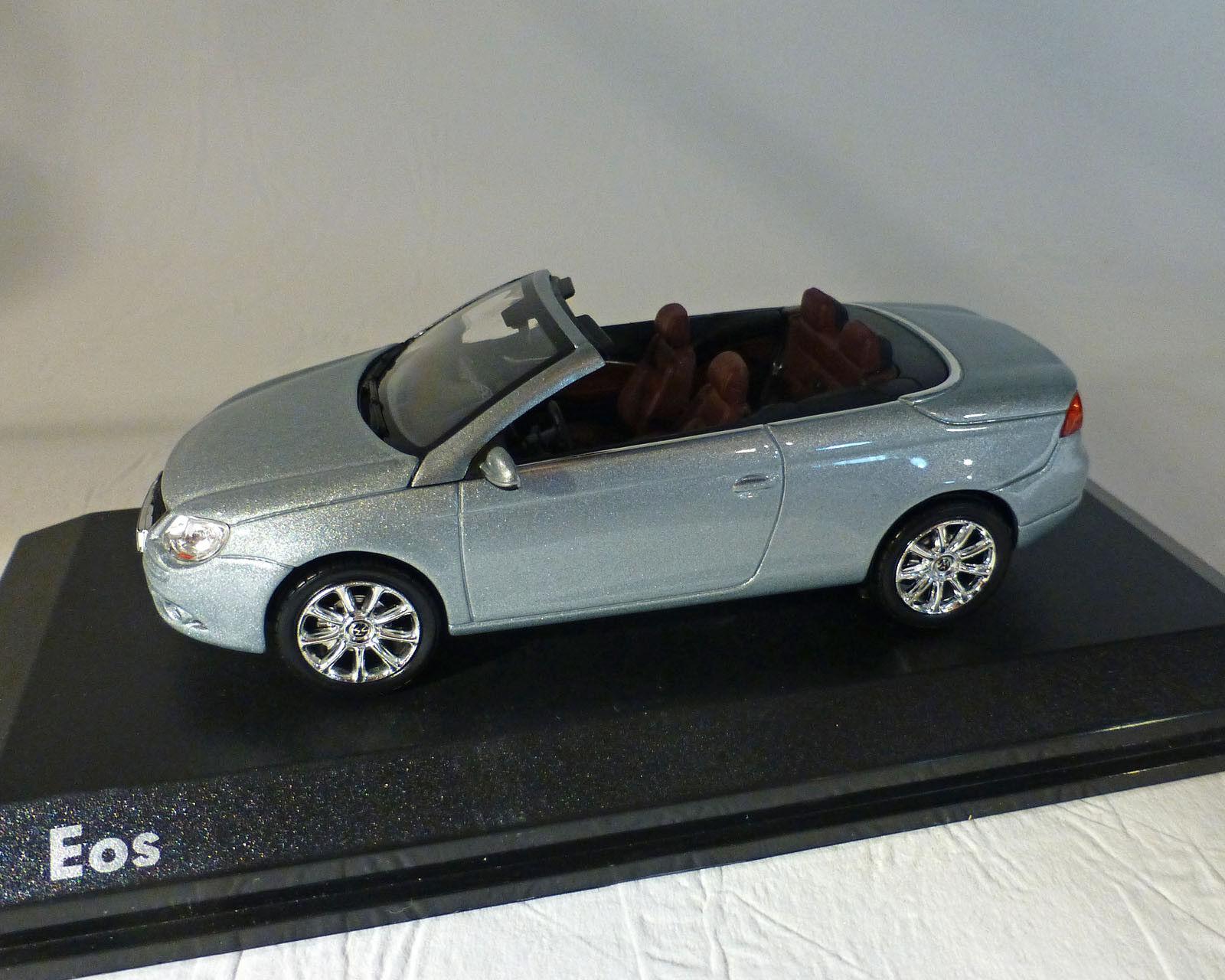 VW EOS, argent métallisé, NOREV 1 43