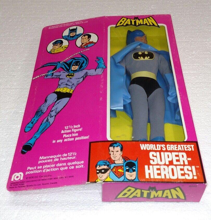 VINTAGE MEGO 1976 BATMAN DC 12.5